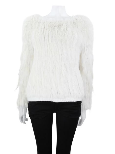 Blusa NK Store Suéter Off-White