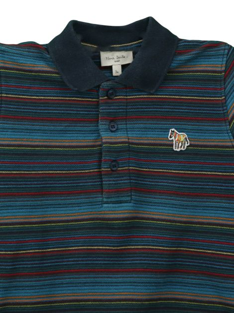 Blusa Paul Smith Baby Manga Longa Infantil