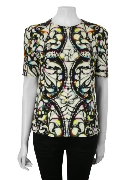 Blusa Peter Pilotto Reta Estampada