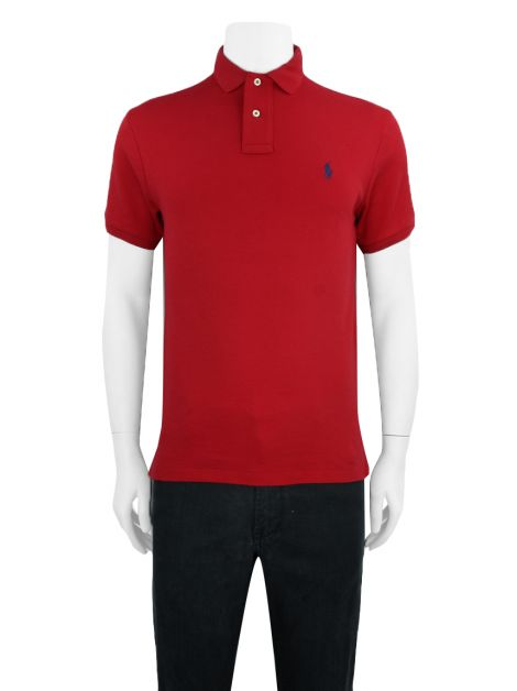 Blusa Polo Ralph Lauren Polo Custom Fit Vermelha