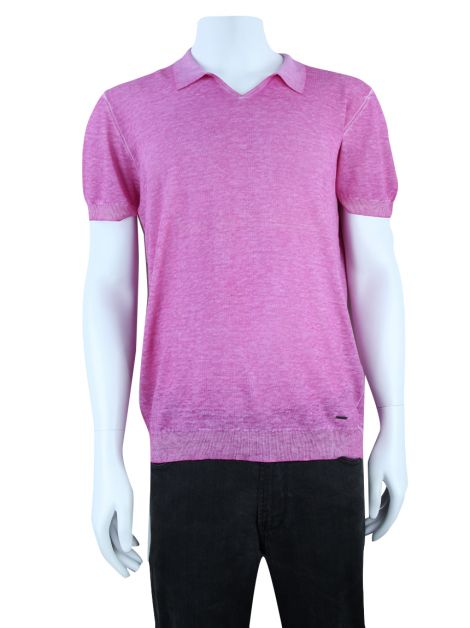 Blusa Silk And Cashmere Rosa Masculina