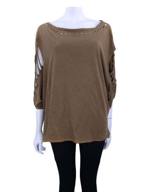 Blusa Talie NK Destroyed Marrom
