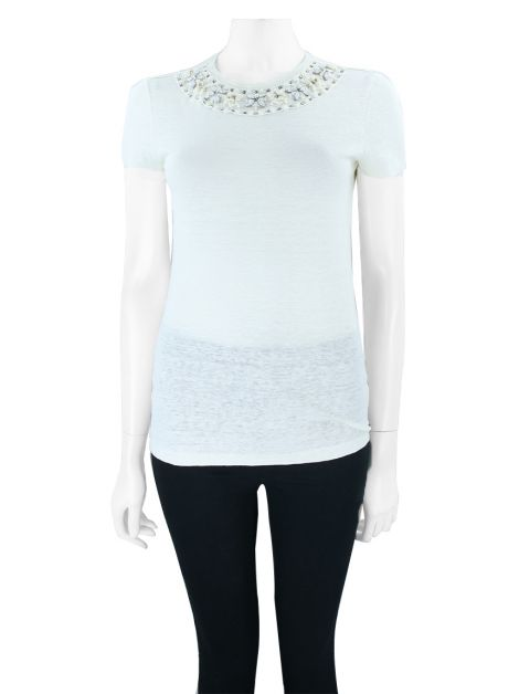 Blusa Tory Burch Savannah Marfim