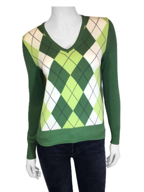 Blusa United Colors Of Benetton Tricot Verde