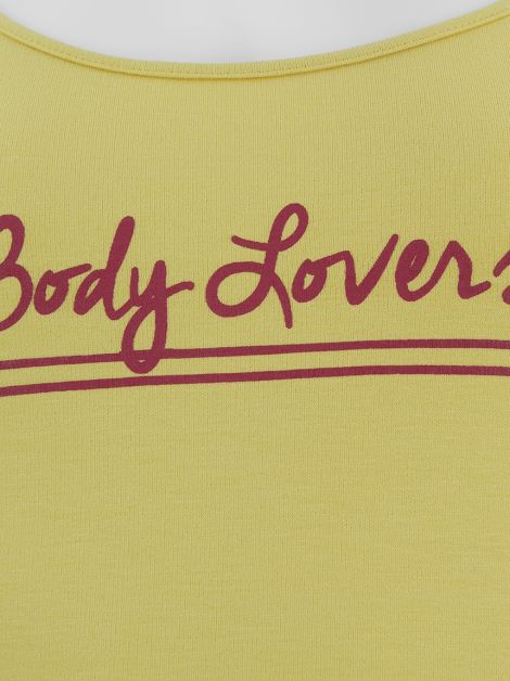 Body A. Brand Body Lovers Amarelo