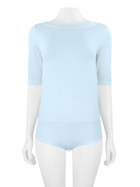 Body Wolford Decote Canoa Off white