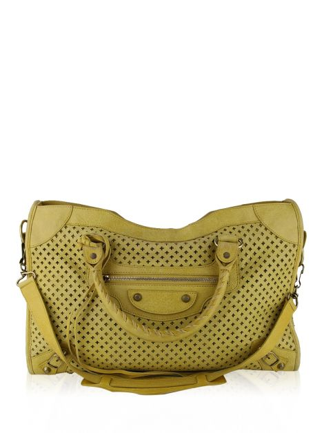 Bolsa Balenciaga Classic City Perforated