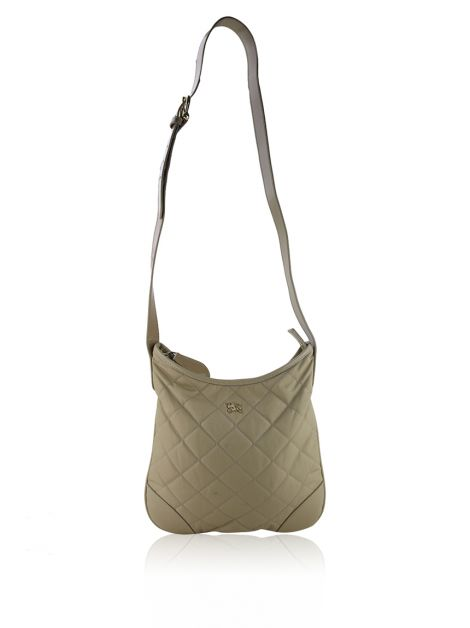 Bolsa Burberry Burford Crossbody Bege