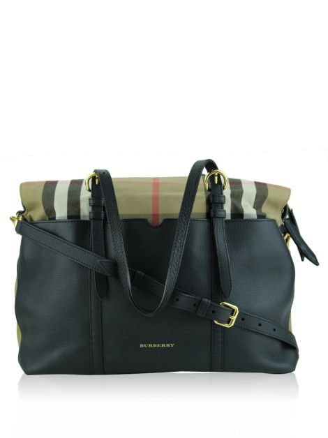 Bolsa Burberry Mason Check Diaper