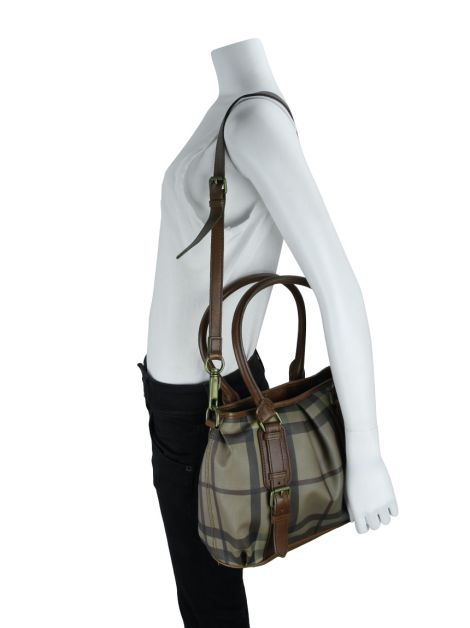 Bolsa Burberry Smoked Check