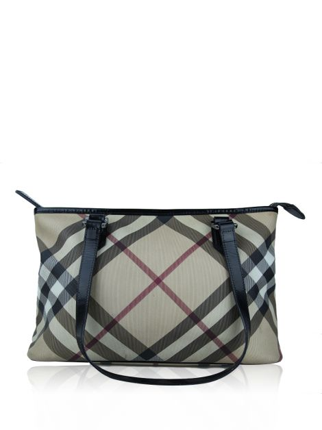 Bolsa Burberry Supernova Check Nickie Canvas