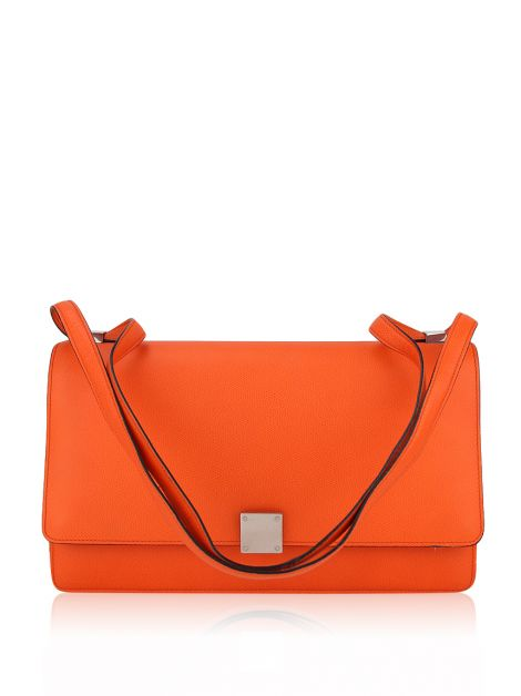 Bolsa Celine Flap Case Medium Laranja