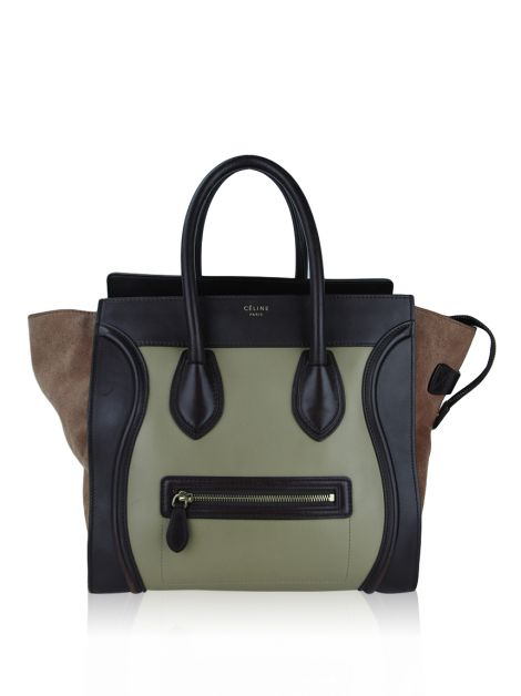Bolsa Celine Luggage Mini Tricolor