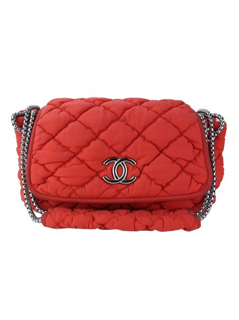 Bolsa Chanel Accordion Vermelha