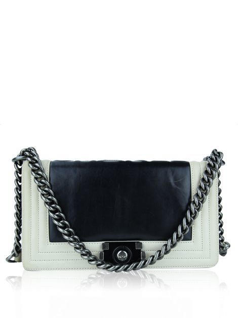 Bolsa Chanel Boy Bicolor