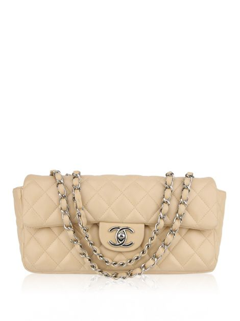 Bolsa Chanel East-West Nude