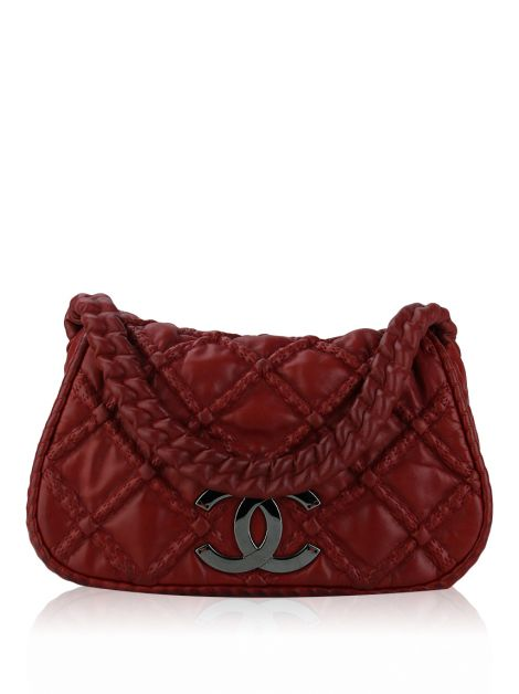 Bolsa Chanel Hidden Chain Vermelha