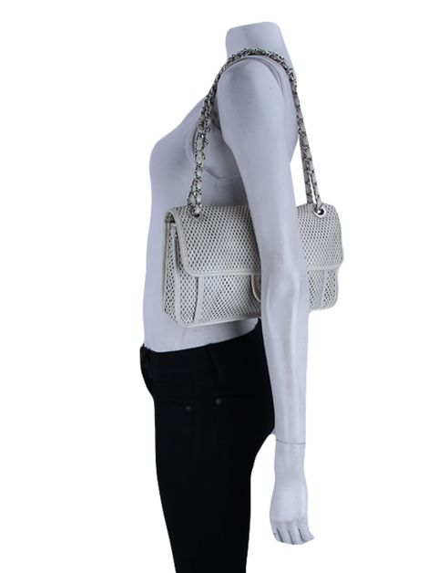 Bolsa Chanel Up in the air Off white