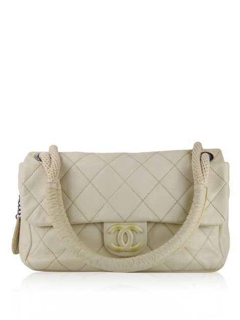 Bolsa Chanel Yacht Off White