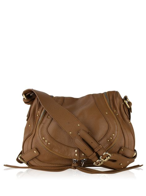 Bolsa Chloé Paddington Saddle Marrom