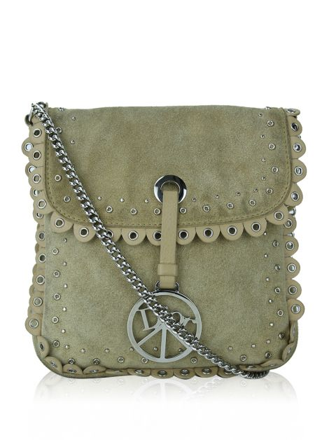 Bolsa Christian Dior Vintage Peace and Love Camurça