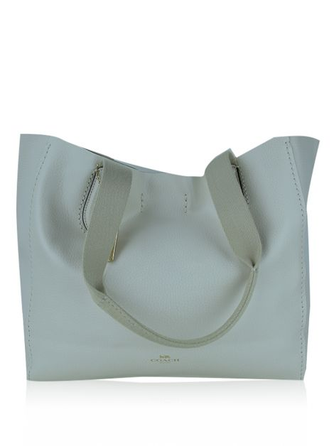 Bolsa Coach Derby Off White