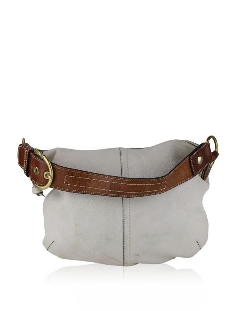 Bolsa Coach Hobo Off-White