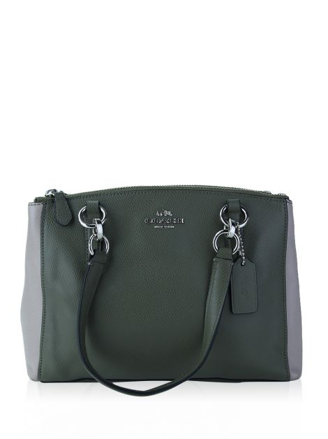 Bolsa Coach Mini Christie Caryall Bicolor