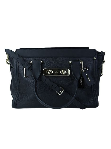 Bolsa Coach Swagger Carrywall Large Preto