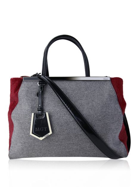 Bolsa Fendi 2Jours Medium Tricolor