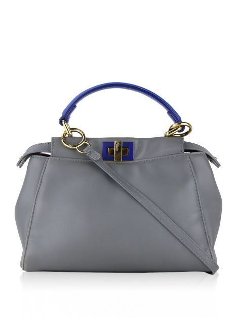Bolsa Fendi Peekaboo Nappa Colorblock Mini