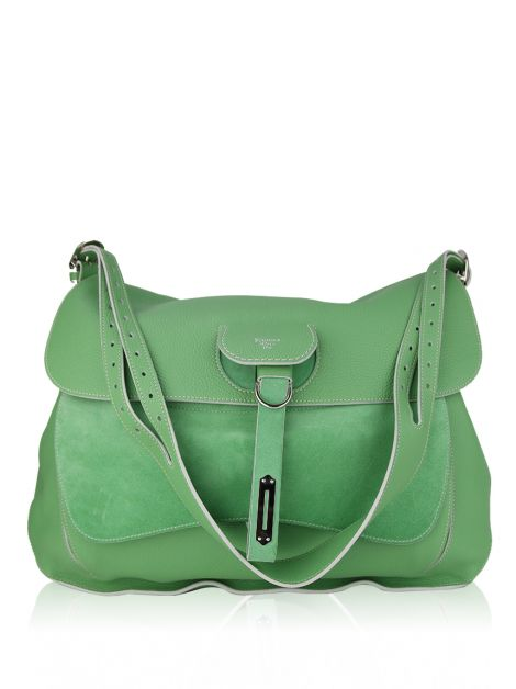 Bolsa Fontana Milano 1915 Wight Saddle Hobo Menta