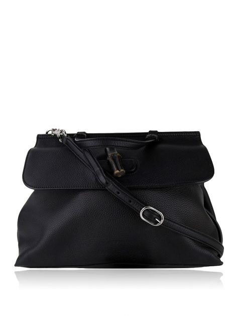 Bolsa Gucci Bamboo Daily Top Handle Preta