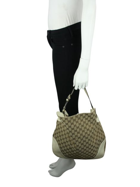 Bolsa Gucci Charlotte Hobo Bege