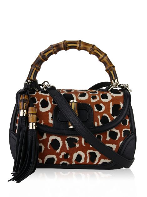 Bolsa Gucci New Bamboo Top Handle Terracota