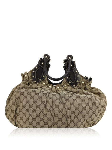 Bolsa Gucci Pelham Shoulder Studded