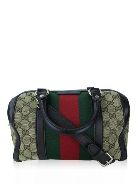 Bolsa Gucci Vintage Web Boston