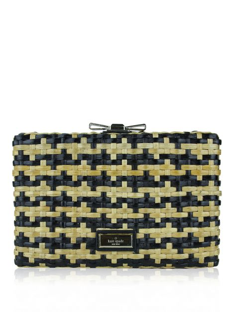 Bolsa Kate Spade Right Bank Straw Emanuelle Bicolor