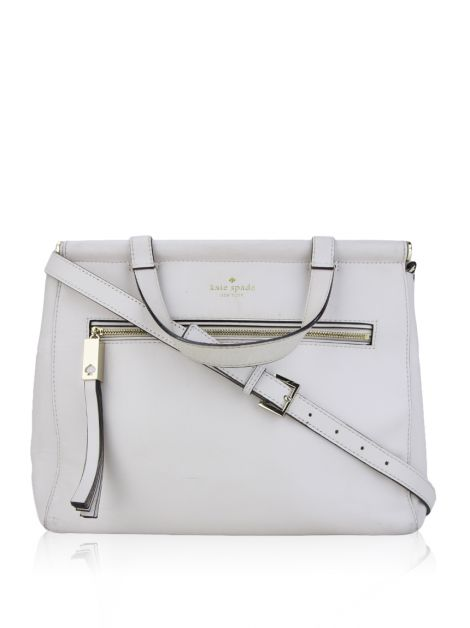 Bolsa Kate Spade Royal Place Couro Off White