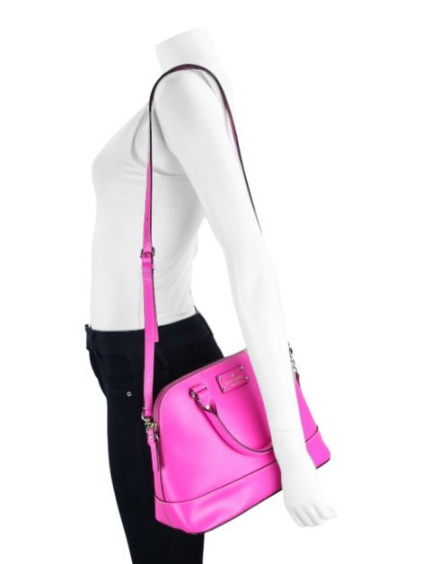 Bolsa Kate Spade Wellesley Small Rachelle Pink