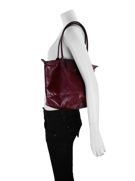 Bolsa Longchamp Le Pliage Limited Edition Vinho