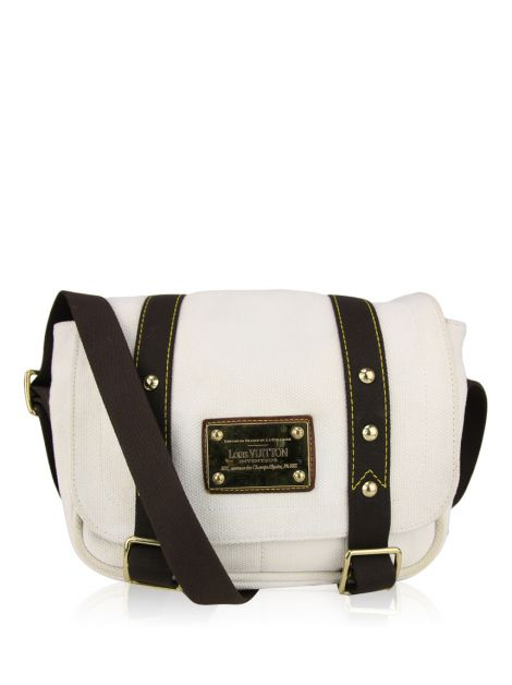 Bolsa Louis Vuitton Antigua Besace PM Off White