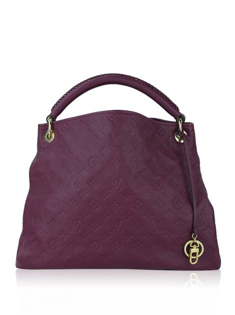 Bolsa Louis Vuitton Artsy MM Monogram Empreinte Raisin