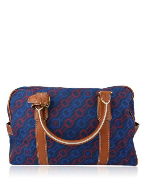 Bolsa Louis Vuitton Azul Estampado