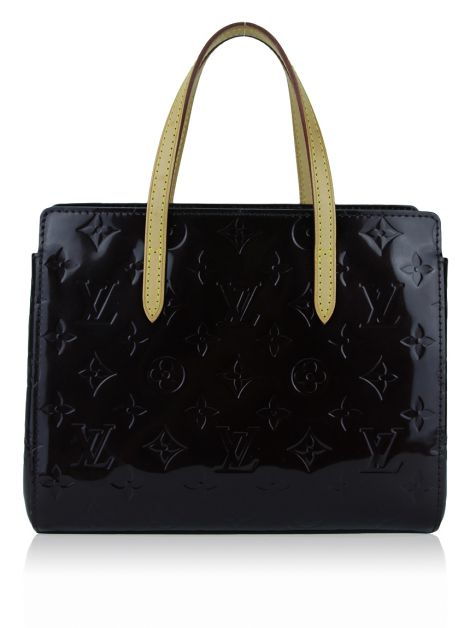 Bolsa Louis Vuitton Catalina BB Verniz Amarante
