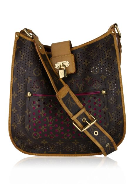 Bolsa Louis Vuitton Limited Edition Musette Perforated Fucsia