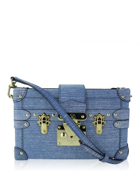 Bolsa Louis Vuitton Petite Malle Epi Denim