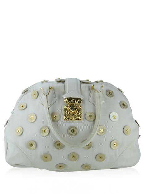 Bolsa Louis Vuitton Polka Dots Panema Bowly Canvas Beige