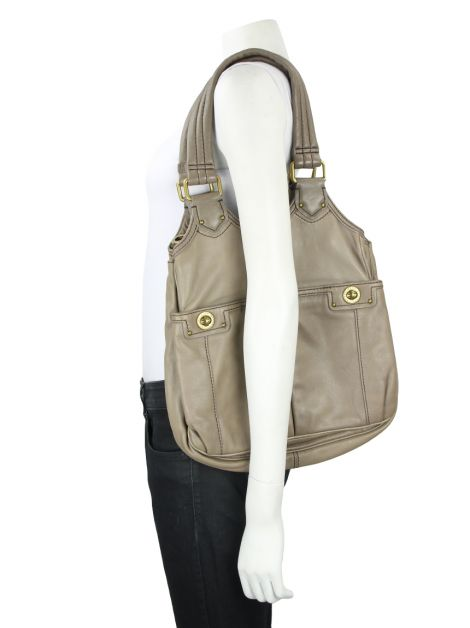Bolsa Marc By Marc Jacobs Totally Turnlock Teri Etoupe