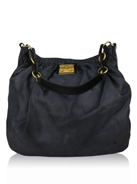 Bolsa Marc by Marc Jacobs Hobo Preto